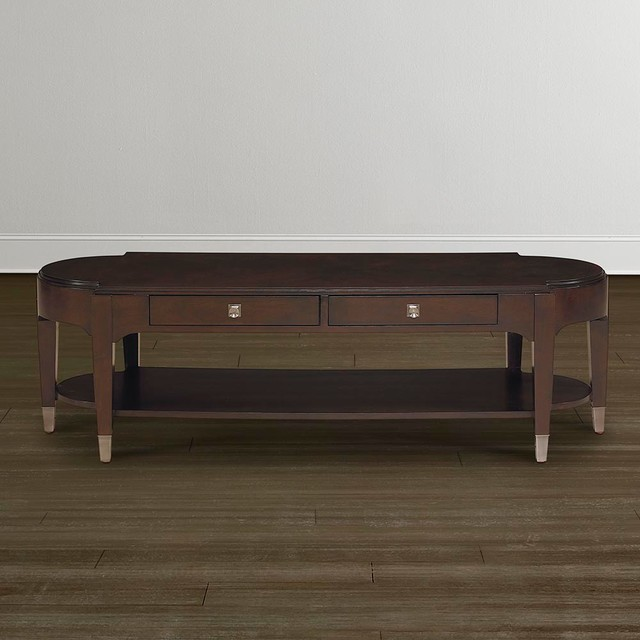 Cosmopolitan Long Cocktail Table By Bassett Furniture Coffee Tables Raleigh By Bassett