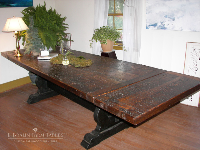 Large Tables Extra Long Tables Reclaimed Barn Wood Dining Tables Other