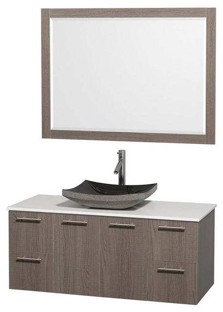 wall mounted vanity with mirror contemporary bathroom vanities