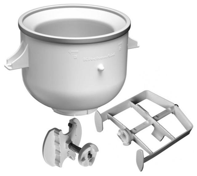 ice cream maker kica0wh eismaschine bauhaus look. Black Bedroom Furniture Sets. Home Design Ideas