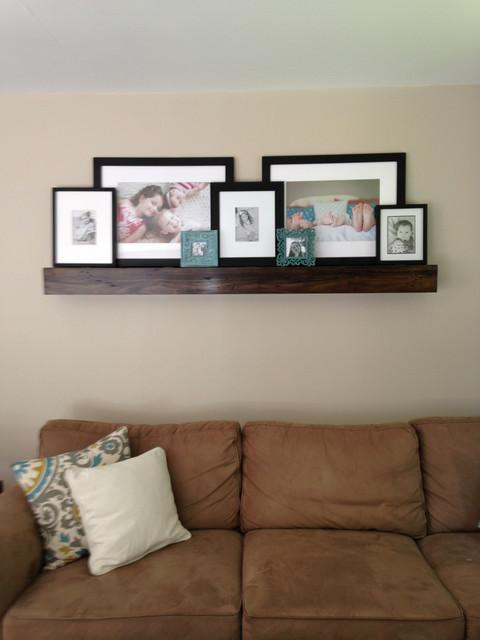 Fire place mantels floating shelves for Modern living room floating shelves