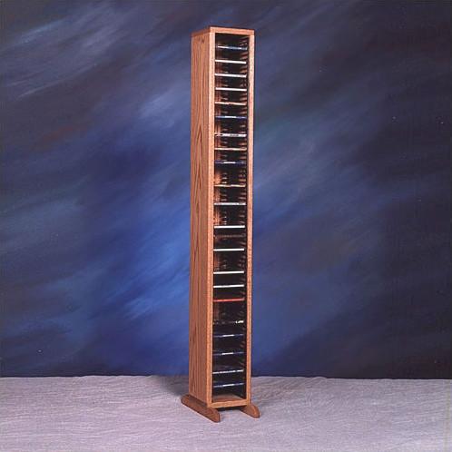 100 series 80 cd multimedia storage rack modern media racks and towers - Cd storage rack tower ...