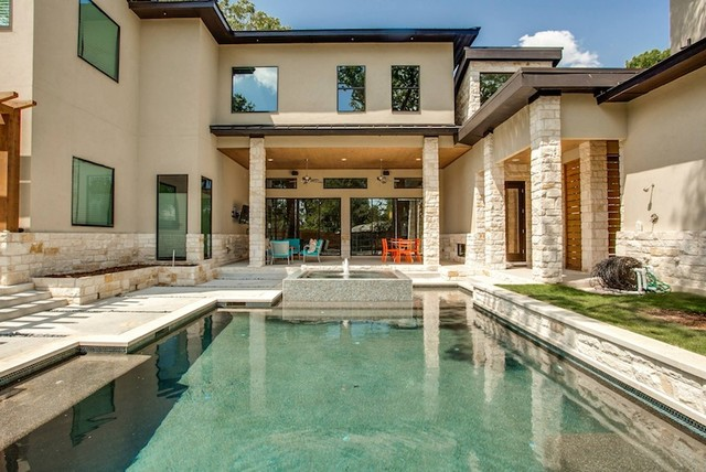 Geometric pool designs dallas highland park plano for Pool design dallas texas