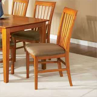 Mission Side Chair in Caramel Latte Contemporary