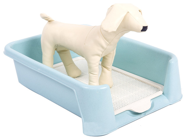 Favorite Plastic Dog Indoor Potty Training Pad Holder - Asian - Dog Supplies - by APPEARANCES ...