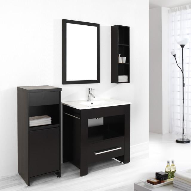 virtu usa masselin 32 inch single sink bathroom vanity set