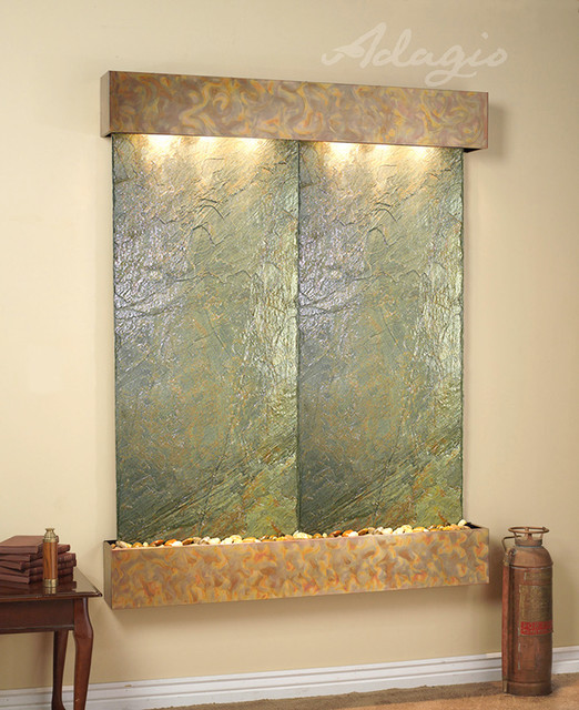 Slate wall mounted water features the majestic river - Wall mounted water feature ...