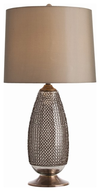 Arteriors Home Chainmail Tall Lamp Contemporary Table