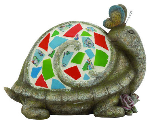 Polystone Mosaic Turtle Contemporary Wall And Floor Tile By Abc
