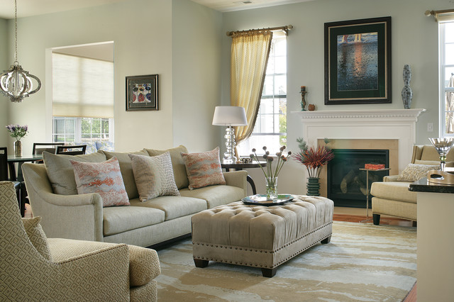 Large Family Room In Active Adults Community Modern Family Room