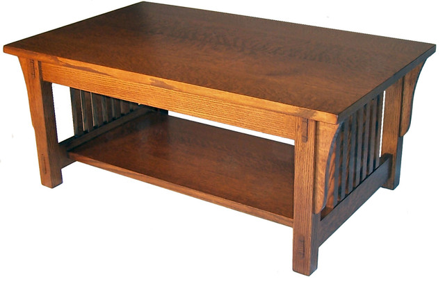Mission Coffee Table Craftsman Coffee Tables By Taylor Made Furniture