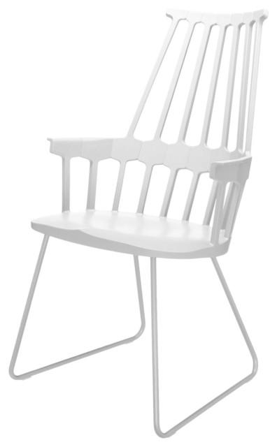 Comback stuhl mit kufen modern esszimmerst hle von for Design stuhl mit kufen