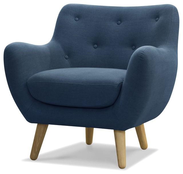 poppy meuble fauteuil esprit seventies bleu p trole contemporain fauteuil. Black Bedroom Furniture Sets. Home Design Ideas