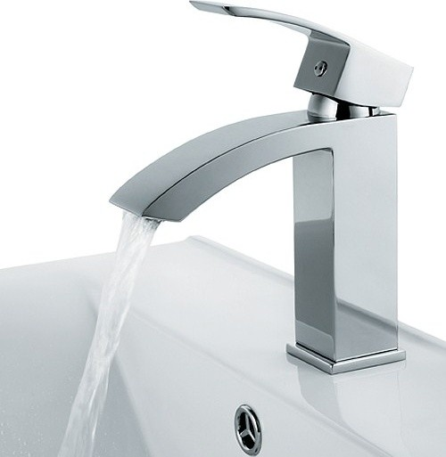 Chic Style Single Hole Bathroom Sink Faucet Modern Bathroom Sink Faucets