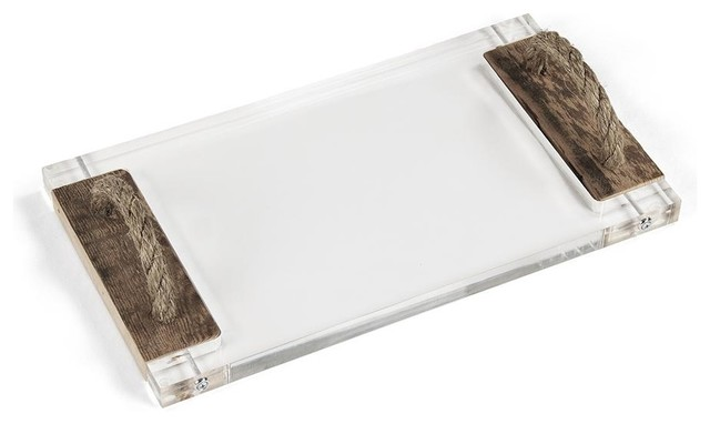 Zentique Acrylic Serving Board - Traditional - Cutting Boards - by Candelabra