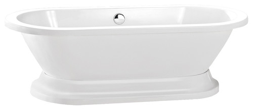 "Gracie 70"" Freestanding Bathtub w/ Base"