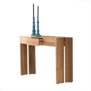 console en bois de teck 120 eden moderne console par. Black Bedroom Furniture Sets. Home Design Ideas