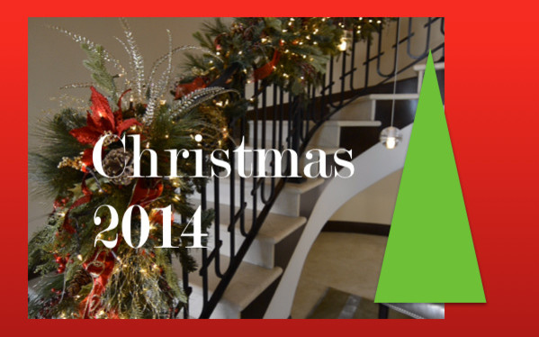 Christmas Decorating Garlands On Your Staircase