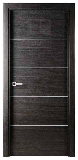 Avanti interior door black apricot 18x80 door slab only for 18x80 door