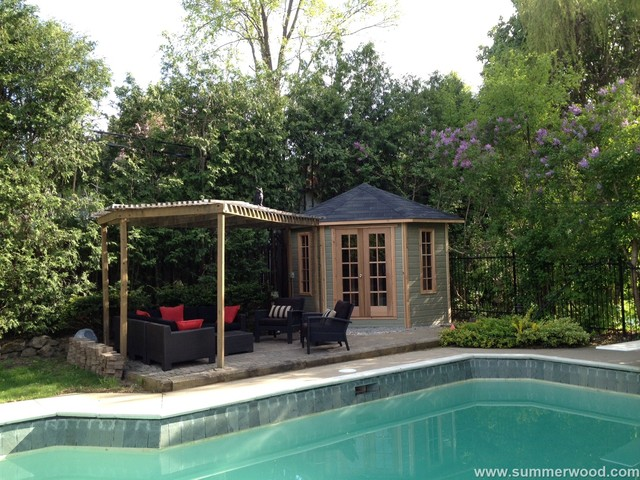 Catalina Pool Cabana By Summerwood Modern Prefab