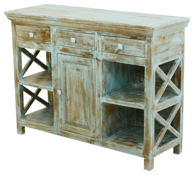 Charmant Country Kitchen Mango Wood Open ... Pictures Gallery Kitchen Buffet  Furniture