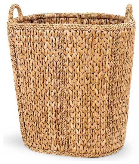 Basket Weaving With Leaves : Palm leaf sweater weave manor basket contemporary