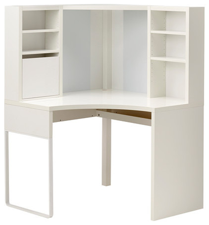 MICKE Corner Workstation Contemporary Desks And Hutches By IKEA