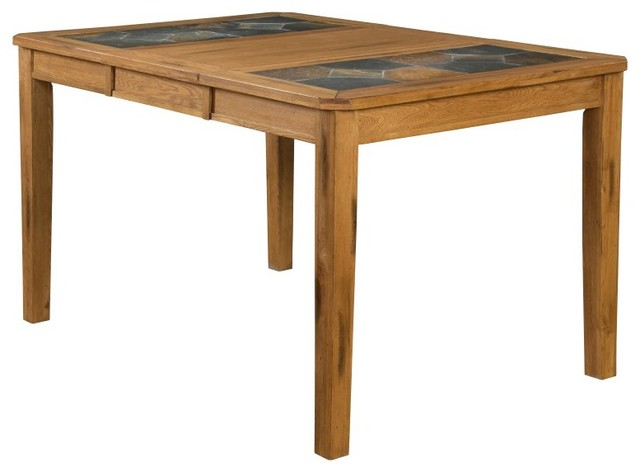 Dining Table With Slate Top 1274RO Contemporary Dining Tables