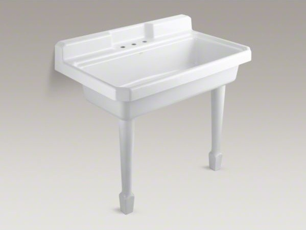 Best Utility Sink : KOHLER Harborview(TM) top-mount or wall-mount utility sink with 3 ...