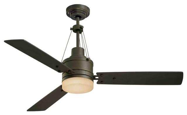 Farmhouse ceiling fan sherlock ceiling fan rusted copper for Farmhouse ceiling fan