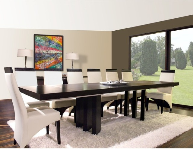 Verona Rectangular Extension Dining Table Wenge VERONA  : contemporary dining tables from houzz.com.au size 640 x 496 jpeg 68kB