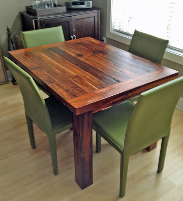 "Kitchen Island Table Houzz: Teak Dining Table, 36"" X 48"", 2"" Thick"