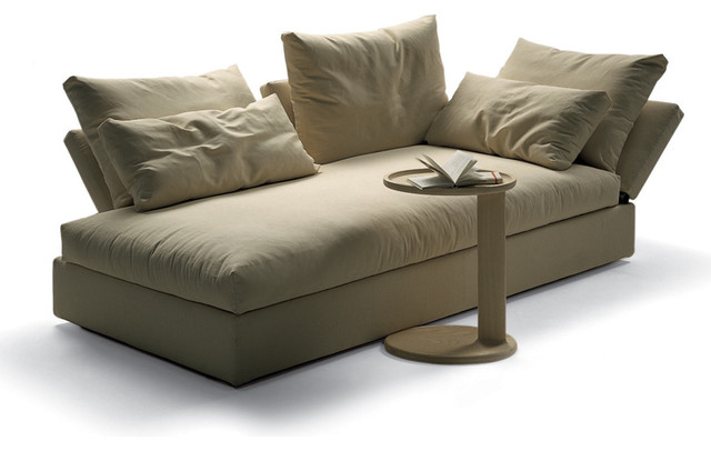 Flexform sunny sofa modern indoor chaise lounge chairs - Designer chaise lounge chairs ...