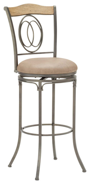 Hillsdale Riggler 26 Inch Swivel Counter Height Stool