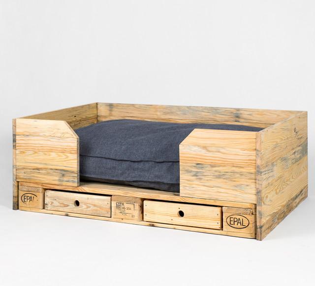 kimidori 1st hundebett mit kissen und schubladen industrial hundebetten sonstige von. Black Bedroom Furniture Sets. Home Design Ideas