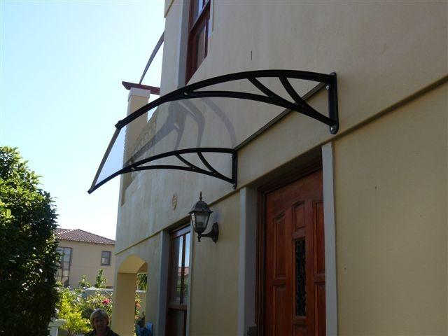 Door awning - Modern