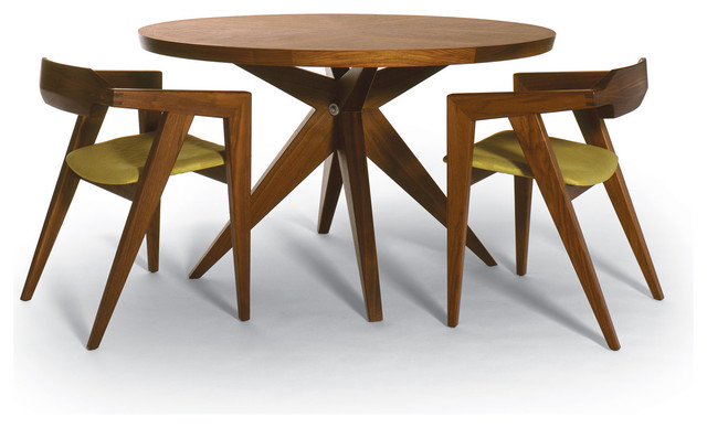 Modern Wooden Dining Chairs amazing windows and lovely contrasting round dining table