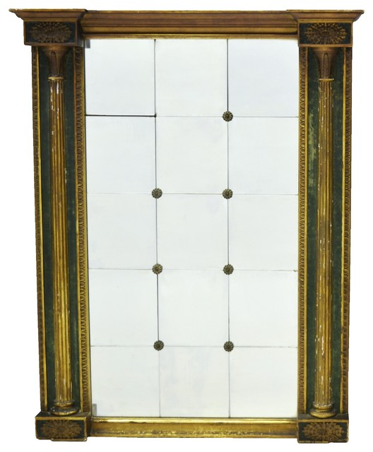 Antique Mirror Traditional Wall Mirrors Other Metro