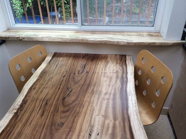 Reclaimed Wood Slab Tables Modern Dining Tables San