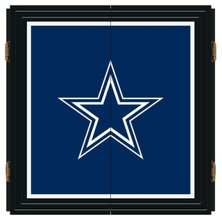 Dallas Cowboys NFL Extreme Fan Dart Cabinet Set - Modern - Darts And Dartboards - by Man Cave ...