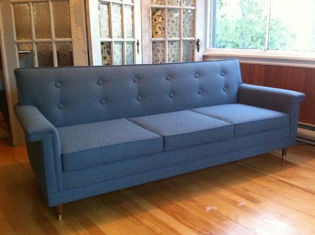 Modern Blue Sofa Incredible Blue Modern Sofa