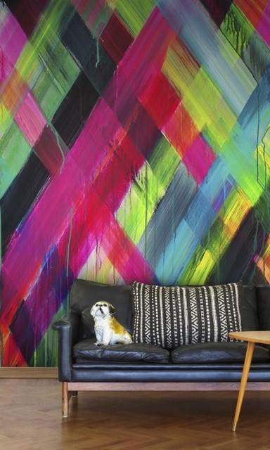 Neon Light - Wallpaper - by Wallpaperdirect