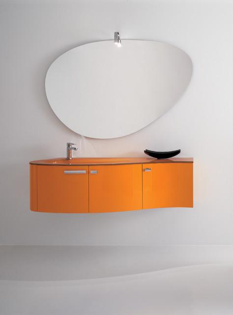 Luna Orange Bathroom Furniture