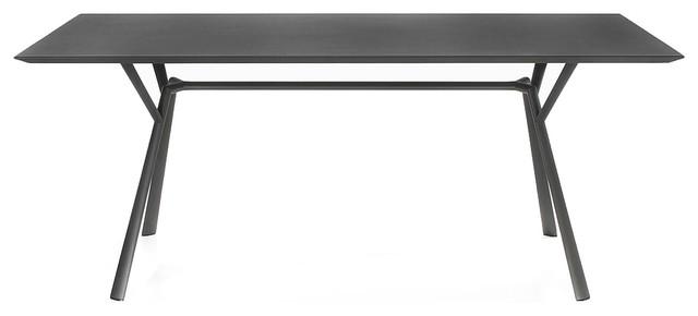 Polyrattan Gartenmobel Bar : Radice Quadra Outdoor Tisch  BauhausLook  Outdoor & Gartenmöbel