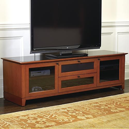 Nylah Home Theater Media Cabinet - Traditional - Entertainment Centers And Tv Stands
