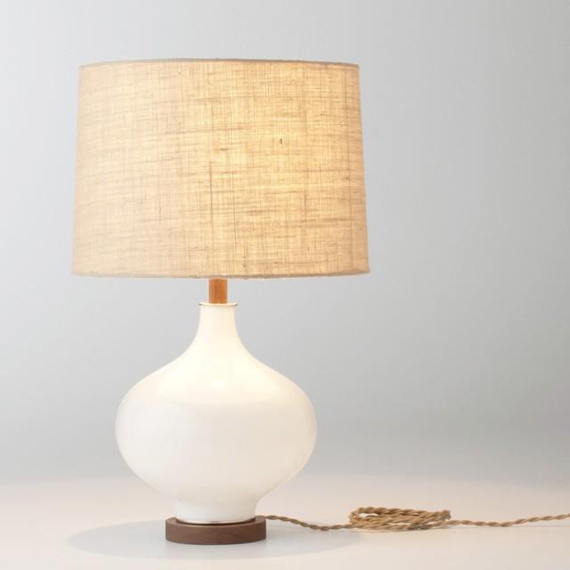 Designer Black Chrome And Crystal 2 Light Table Lamp (Inc. 2 Shades)