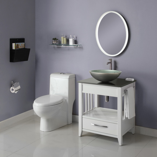Small Bathroom Vanities - Traditional - Bathroom Vanities And Sink Consoles - los angeles - by ...