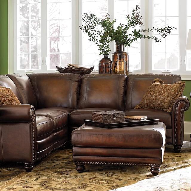 Hamilton Reclining Sectional Sofa By Bassett: Hamilton Sofa/sectional
