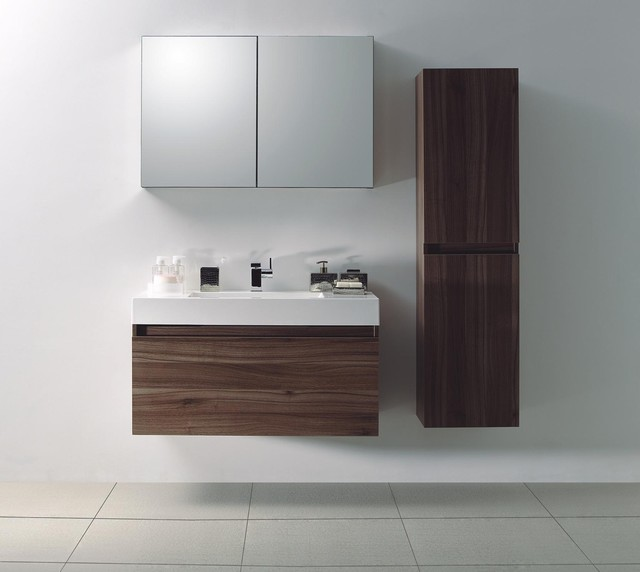 Andesite vanity modern bathroom vanities and sink consoles toronto by modern bathware for Contemporary bathroom sinks and vanities