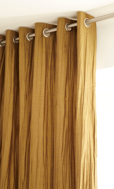 Iliv Ripple Chartreuse Curtains From Aspire Curtains Blinds Contemporary Curtains